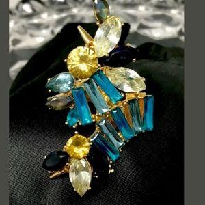 Erickson Beamon Jewelry - Signed Erickson Beamon Cocktail Ring Size 7